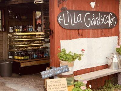 Hjärtfabriken Lilla Gårdscaféet